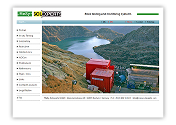 Mesy-Solexperts - Rock testing and monitoring systems